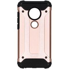 Rugged Xtreme Case Roségold für Motorola Moto G7 / G7 Plus