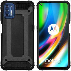 iMoshion Rugged Xtreme Case Motorola Moto G9 Plus - Schwarz