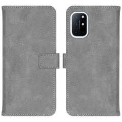 iMoshion Luxuriöse Buchtyp-Hülle OnePlus 8T - Grau