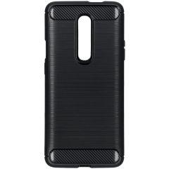 Brushed TPU Case Schwarz für das OnePlus 7 Pro