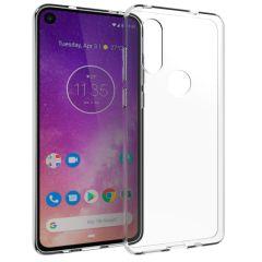 Accezz TPU Clear Cover Transparent für das Motorola One Vision