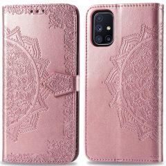 iMoshion Mandala Booktype-Hülle  Samsung Galaxy M51 - Roségold