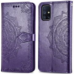 iMoshion Mandala Booktype-Hülle  Samsung Galaxy M51 - Violett