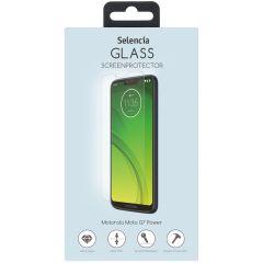 Selencia Displayschutz aus gehärtetem Glas für Motorola Moto G7 Power