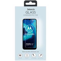 Selencia Displayschutz aus gehärtetem Glas Moto G8 Power Lite