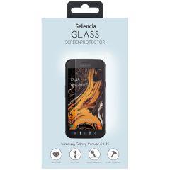 Selencia Displayschutz aus gehärtetem Glas Galaxy Xcover 4 / 4S
