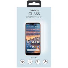 Selencia Displayschutz aus gehärtetem Glas für Nokia 4.2