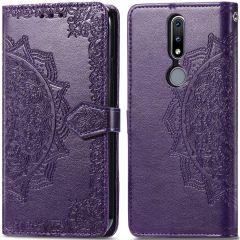 iMoshion Mandala Booktype-Hülle Nokia 2.4 - Violett