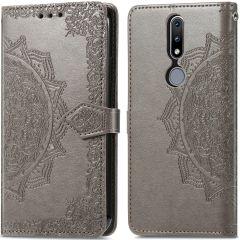 iMoshion Mandala Booktype-Hülle Nokia 2.4 - Grau