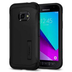Spigen Slim Armor™ Case Schwarz Samsung Galaxy Xcover 4 / 4S