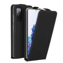 Accezz Flip Case Schwarz für das Samsung Galaxy S20 FE