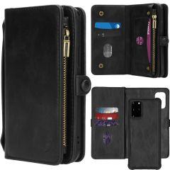 iMoshion 2-1 Wallet Booktype Schwarz für das Samsung Galaxy S20 Plus