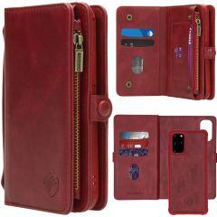 iMoshion 2-1 Wallet Booktype Rot für das Samsung Galaxy S20 Plus