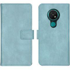 iMoshion Luxus Booktype Hülle Hellblau für das Nokia 6.2 / Nokia 7.2