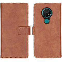 iMoshion Luxus Booktype Hülle Braun für das Nokia 6.2 / Nokia 7.2