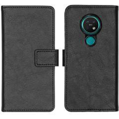 iMoshion Luxus Booktype Hülle Schwarz für das Nokia 6.2 / Nokia 7.2