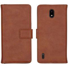 iMoshion Luxuriöse Buchtyp-Hülle Nokia 1.3 - Braun
