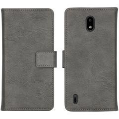 iMoshion Luxuriöse Buchtyp-Hülle Nokia 1.3 - Grau