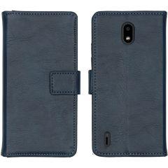 iMoshion Luxuriöse Buchtyp-Hülle Nokia 1.3 - Dunkelblau