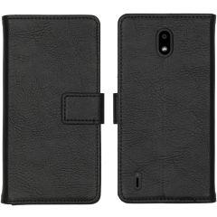 iMoshion Luxuriöse Buchtyp-Hülle Schwarz Nokia 1.3