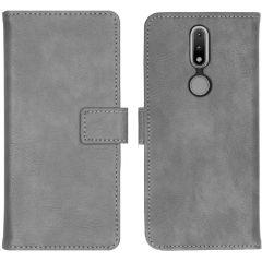 iMoshion Luxuriöse Buchtyp-Hülle Nokia 2.4 - Grau