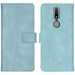 iMoshion Luxuriöse Buchtyp-Hülle Nokia 2.4 - Hellblau