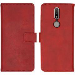 iMoshion Luxuriöse Buchtyp-Hülle Nokia 2.4 - Rot