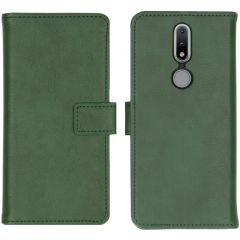iMoshion Luxuriöse Buchtyp-Hülle Nokia 2.4 - Grün