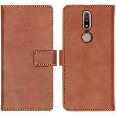 iMoshion Luxuriöse Buchtyp-Hülle Nokia 2.4 - Braun