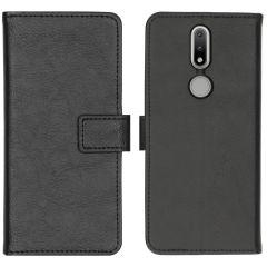 iMoshion Luxuriöse Buchtyp-Hülle Nokia 2.4 - Schwarz