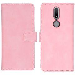 iMoshion Luxuriöse Buchtyp-Hülle Nokia 2.4 - Rosa