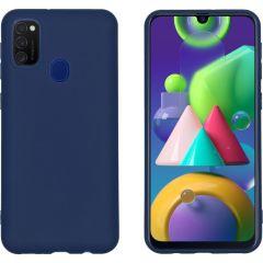 iMoshion Color TPU Hülle Dunkelblau für das Samsung Galaxy M30s / M21