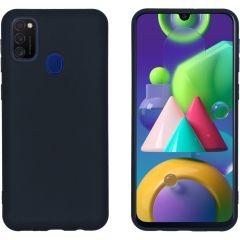 iMoshion Color TPU Hülle Schwarz für das Samsung Galaxy M30s / M21
