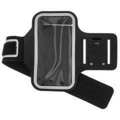 Sportarmband für das Samsung Galaxy A42 - Schwarz
