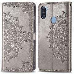 iMoshion Mandala Booktype-Hülle Samsung Galaxy M11 / A11 - Grau