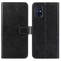 iMoshion Luxuriöse Buchtyp-Hülle Samsung Galaxy M31s - Schwarz
