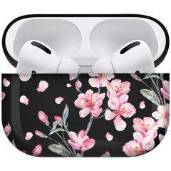 iMoshion Design Hardcover Case AirPods Pro - Blossom Watercolor Black