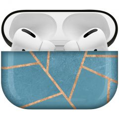 iMoshion Design Hardcover Case AirPods Pro - Blue Graphic
