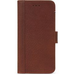 Decoded 2 in 1 Leather Booktype Braun iPhone SE (2020) / 8 / 7
