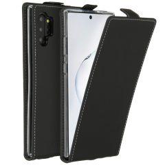 Accezz Flip Case Schwarz für das Samsung Galaxy Note 10 Plus