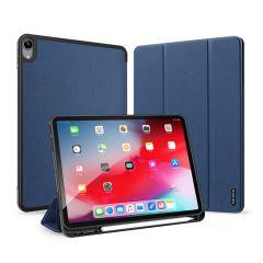 Dux Ducis Domo Book Case für iPad Air (2020) - Dunkelblau