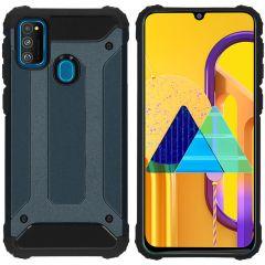 iMoshion Rugged Xtreme Case Dunkelblau für Samsung Galaxy M30s / M21