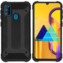 iMoshion Rugged Xtreme Case Schwarz für das Samsung Galaxy M30s / M21