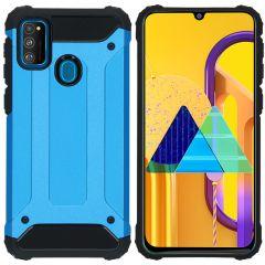 iMoshion Rugged Xtreme Case Hellblau für Samsung Galaxy M30s / M21
