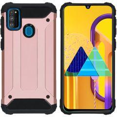 iMoshion Rugged Xtreme Case Roségold für Samsung Galaxy M30s / M21