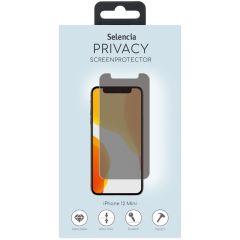 Selencia Screen Protector Privacy Glas für iPhone 12 Mini