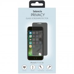Selencia Screen Protector gehärtetem Glas iPhone 8 / 7 / 6s / 6