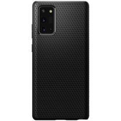 Spigen Liquid Air™ Case Schwarz für das Samsung Galaxy Note 20