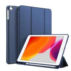 Accezz Smart Silicone Bookcase Blau iPad 10.2 (2019 / 2020)