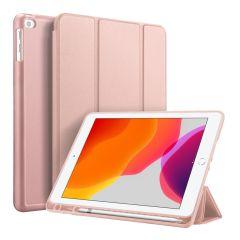 Accezz Smart Silicone Bookcase Roségold iPad 10.2 (2019 / 2020)